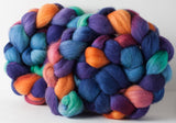 Organic Polwarth combed top: Little Mermaid