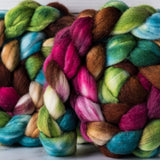 Merino/silk spinning fiber: Be the Change