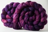 Merino/superwash merino/silk spinning fiber: Scheherezade