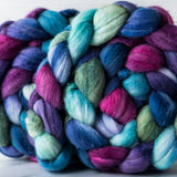 Targhee/silk spinning fiber: Siren Song