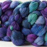Polwarth combed top: Siren Song