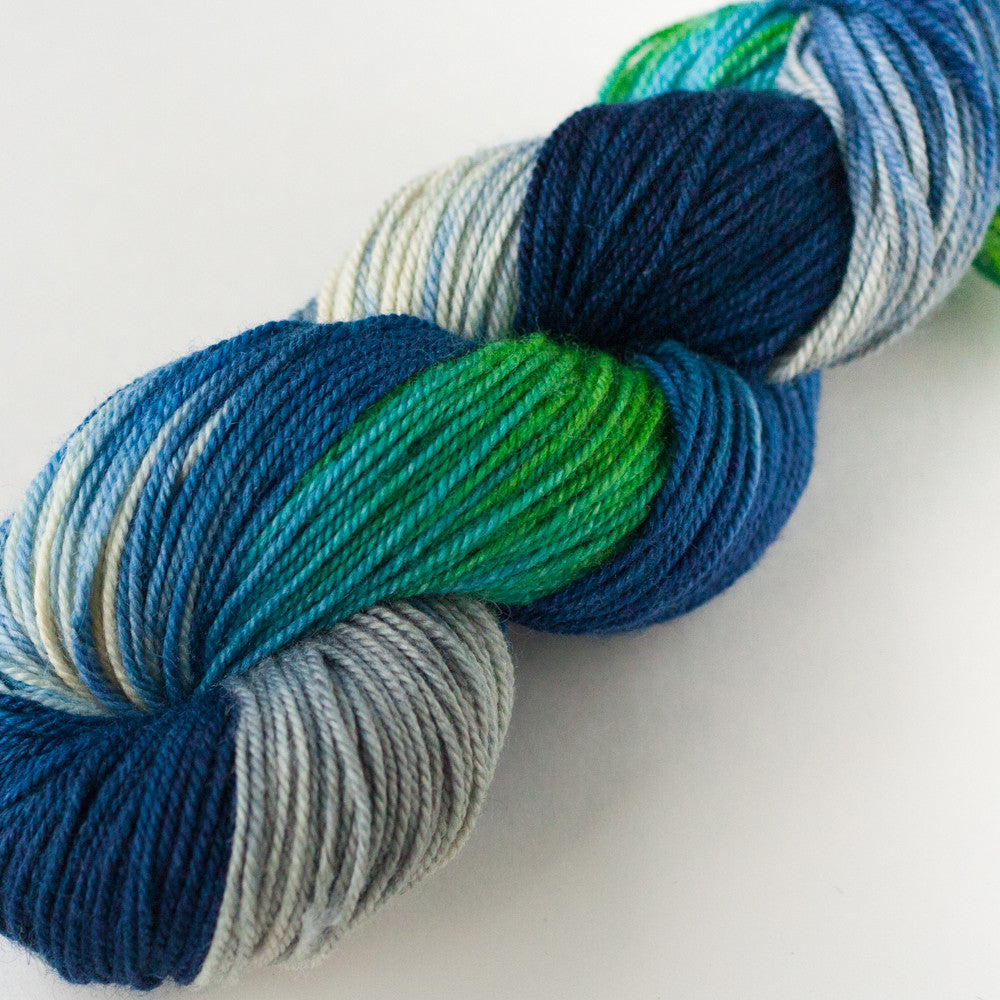 Blue-Faced Leicester and Silk DK: Legion of Boom