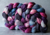 Polwarth/Silk Ultra spinning fiber: Sweet Dreams, 4 oz