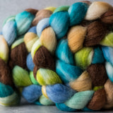 Merino/silk spinning fiber: Sanctuary, 4 oz