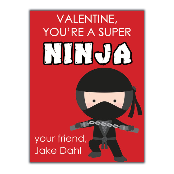 Ninja Valentine Instant Download