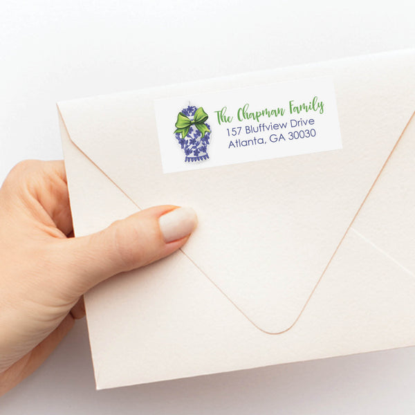Ginger Jar Return Address Label