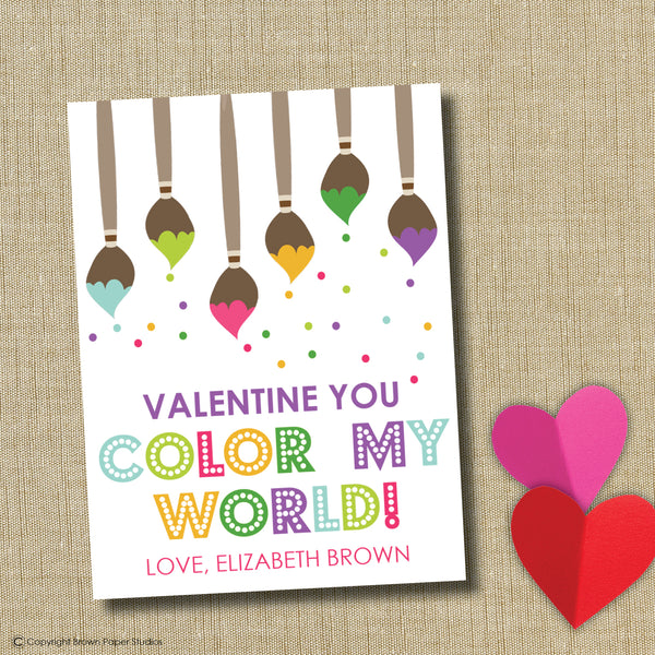 Art Valentine Instant Download