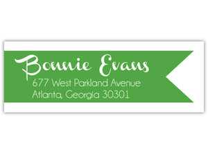 Banner Return Address Label