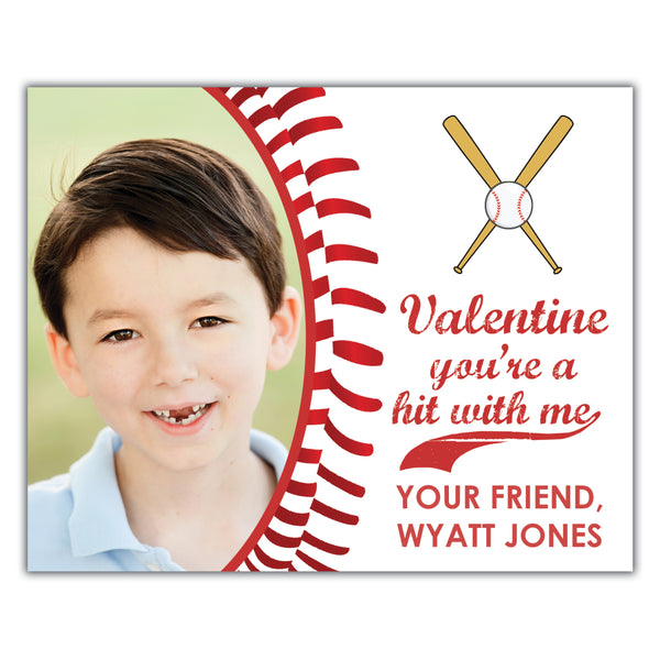 Baseball School Valentine