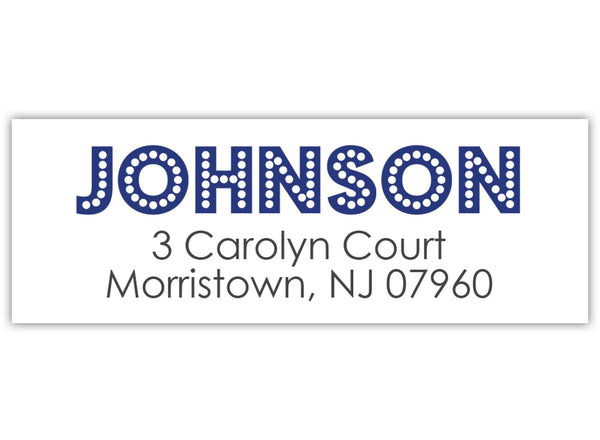 Boradway Return Address Labels