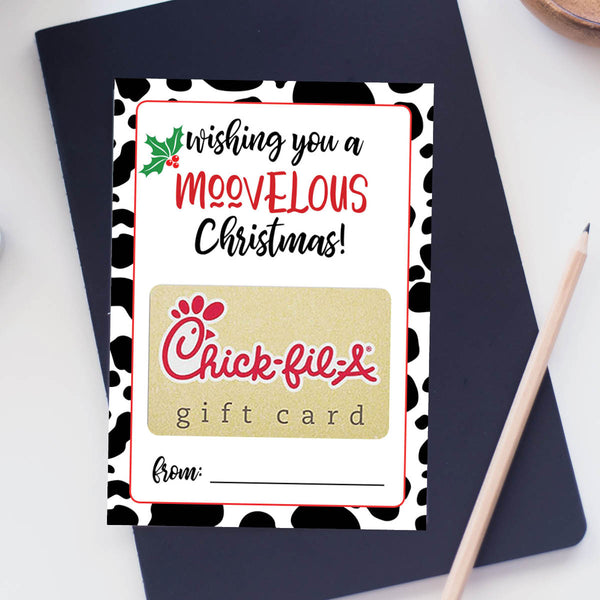 Chick-fil-A Gift Card Holder