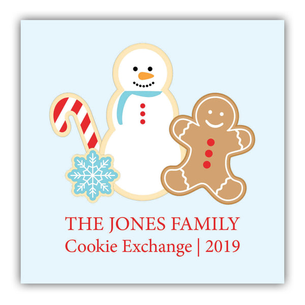 Cookie Exchange Sticker