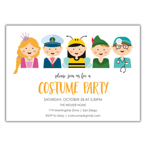 Costume Party Invitation