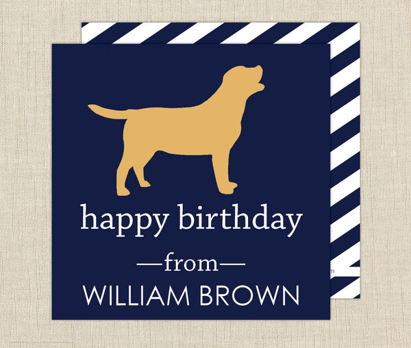 Dog Gift Enclosure Cards