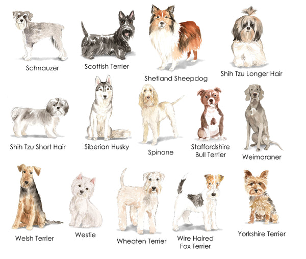 Dog Lover (multiple breeds available)