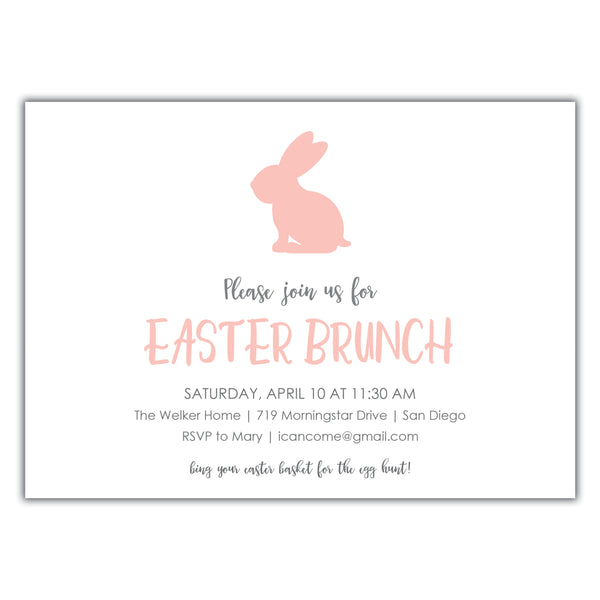 Easter Brunch Invitation
