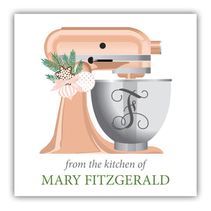 From the kitchen of gift labels
