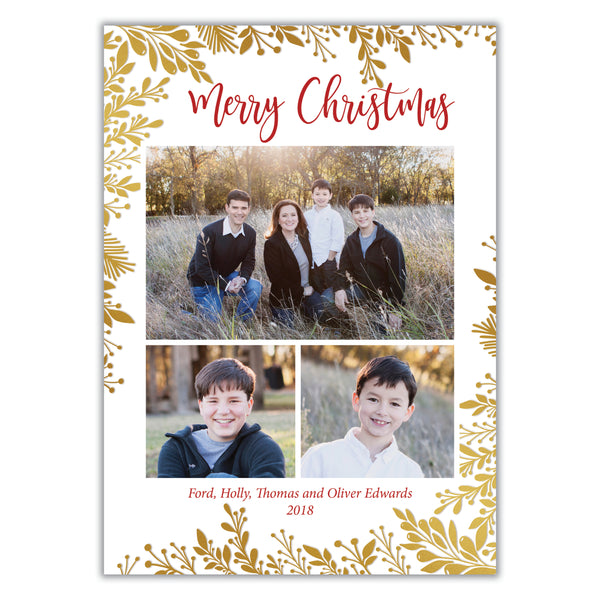 Multiple Photo Christmas Card