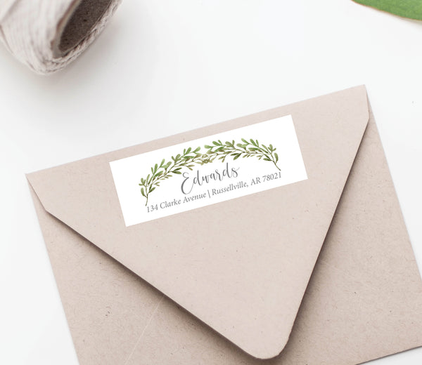 Christmas Greenery Labels