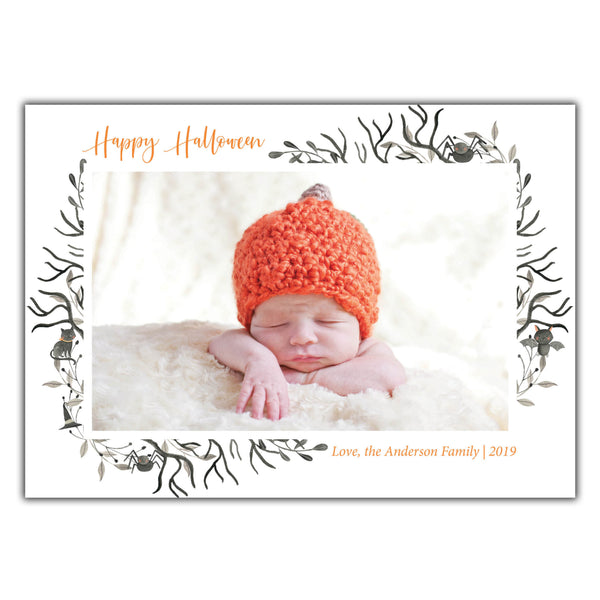 Halloween Photo Card
