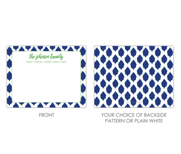 Ikat Family Stationery