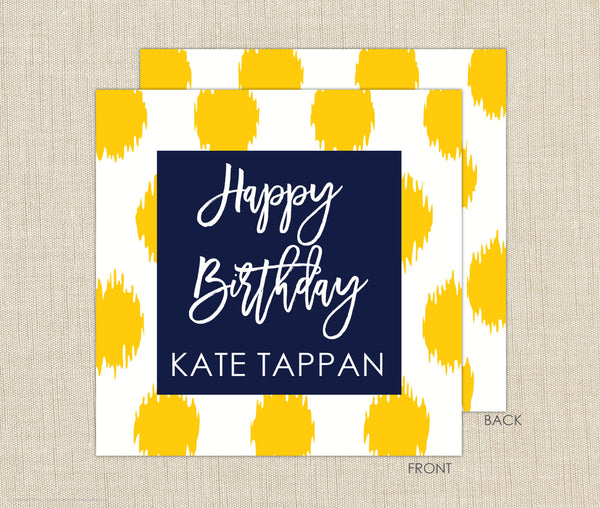 Ikat Gift Enclosure Cards