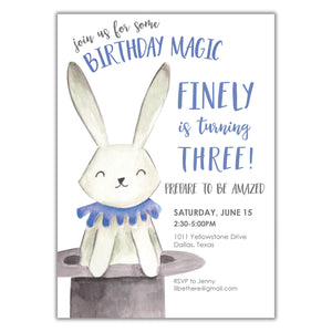 Magic Birthday Invitation