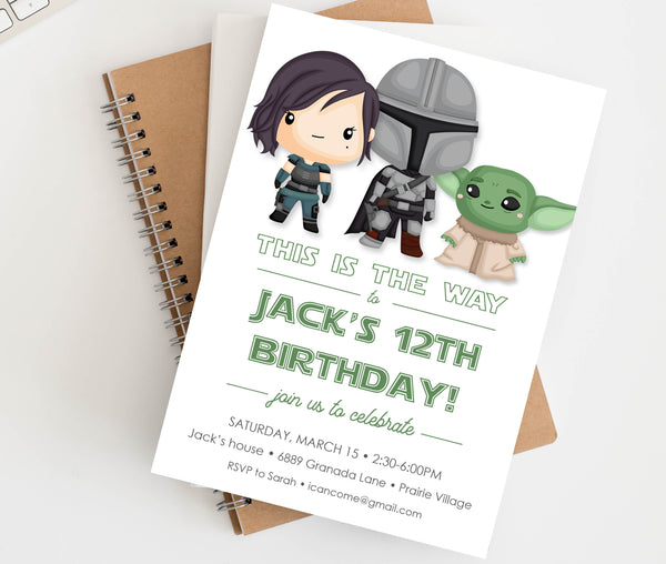 Mandalorian Birthday