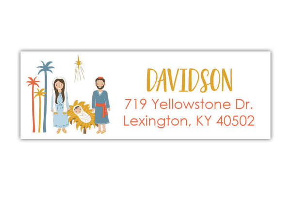 Nativity Address Labels