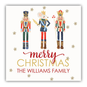 Nutcracker Gift Label