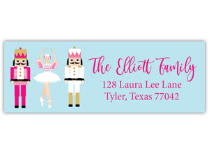 Nutcracker Address Label
