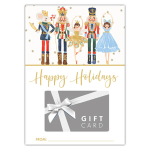 Nutcracker Gift Card Holder