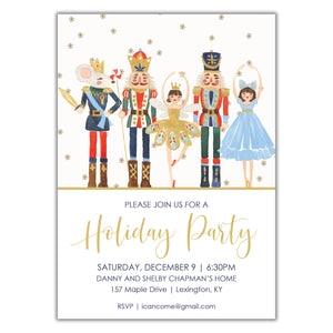 Nutcracker holiday party