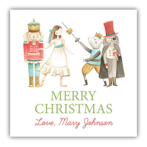 Nutcracker Suite Gift Label