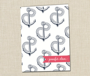 Personalized Folder Anchors Away