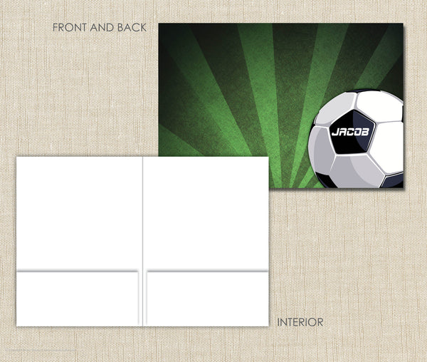 Personalized Folder Soccer