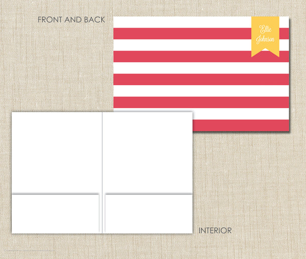 Personalized Folder Stripe