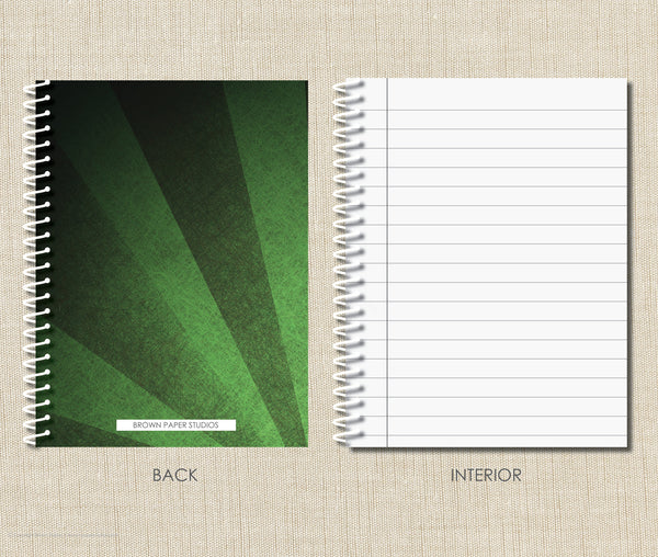 Personalized Soccer Spiral Notebook