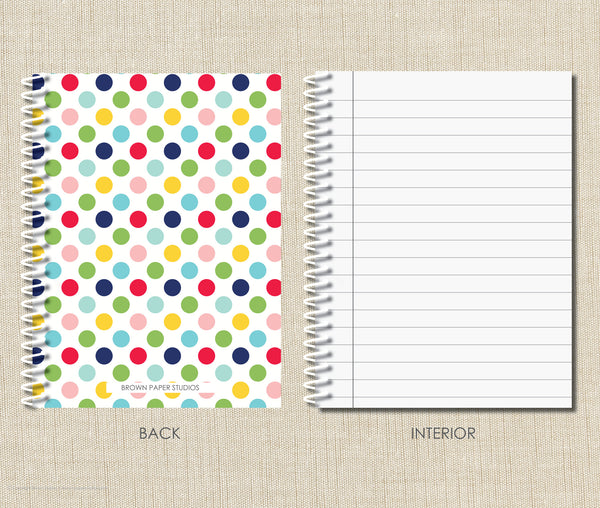 Personalized Spiral Notebook