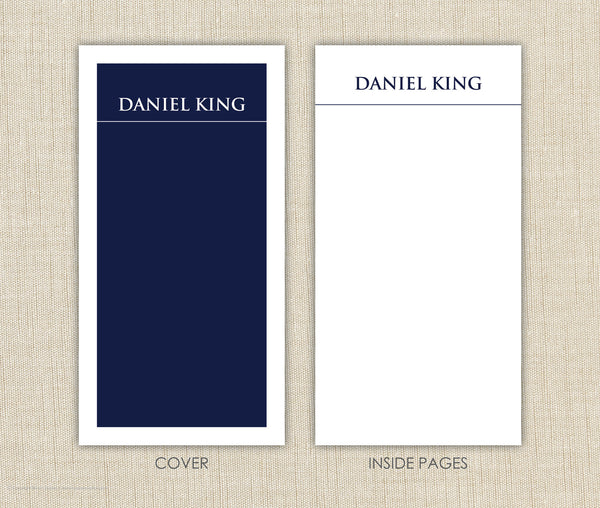 Men's Personalized Notepad Set