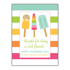 Popsicle Valentine Instant Download