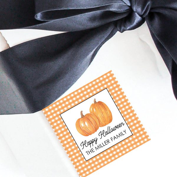 Halloween Gift Labels