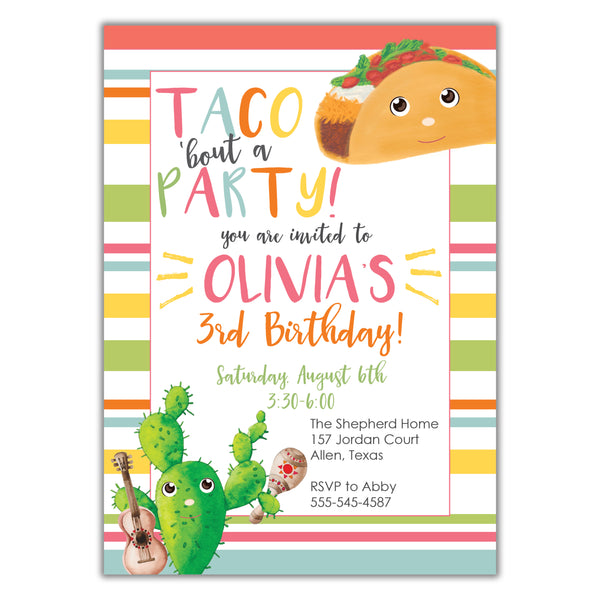Copy of Taco bout Party (girl)
