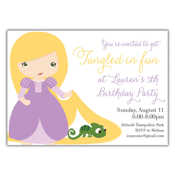 Tangled Invitation