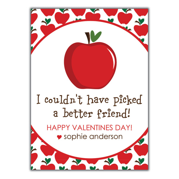 Apple Valentine Instant Download
