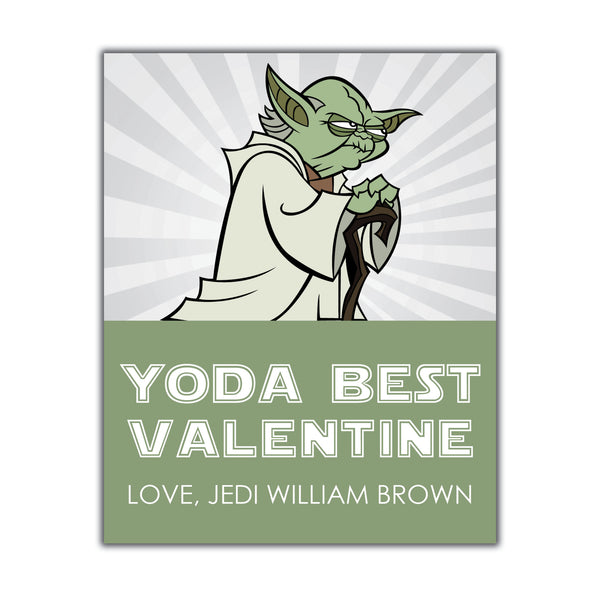 Yoda Valentine Instant Download