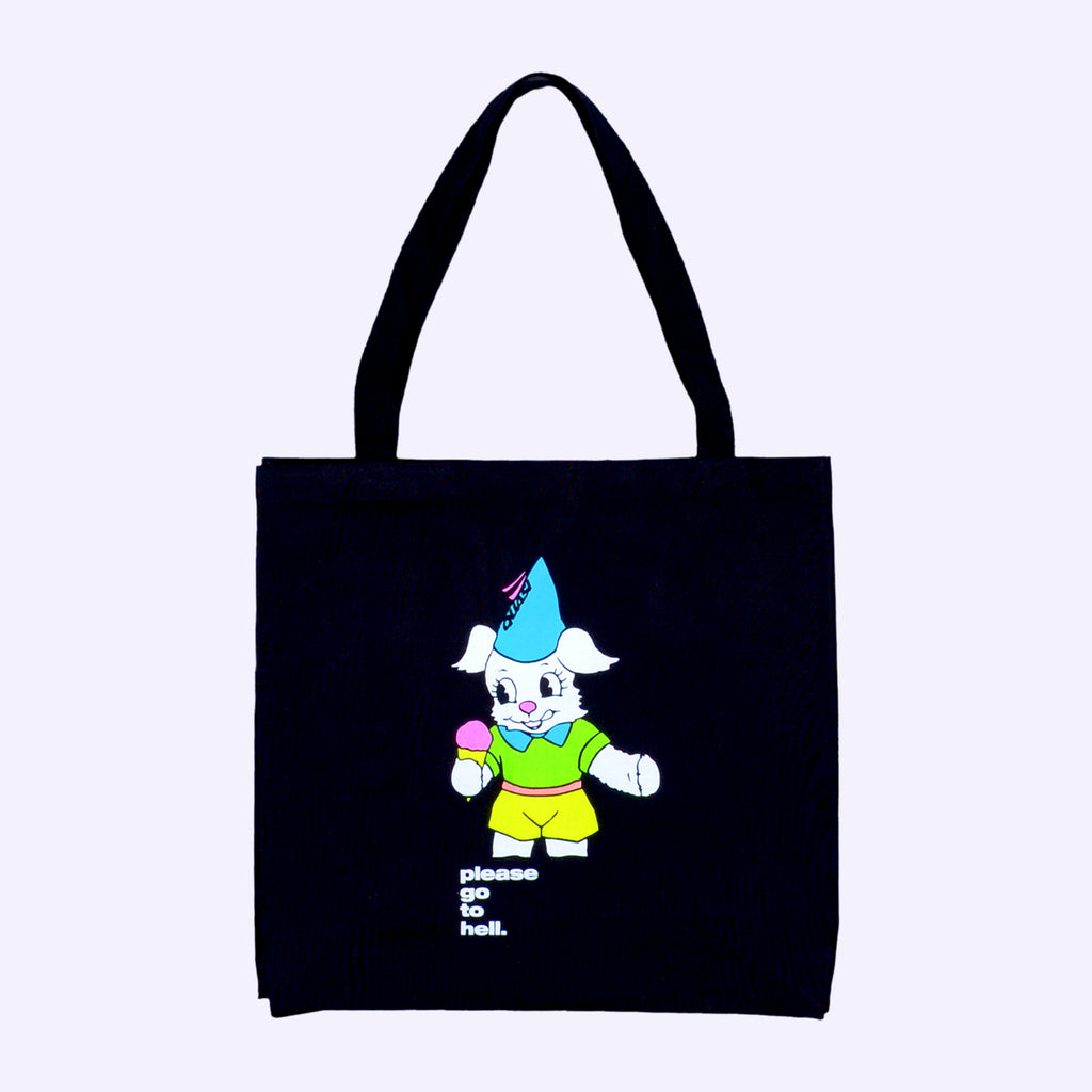 Go To Hell Tote [Black]