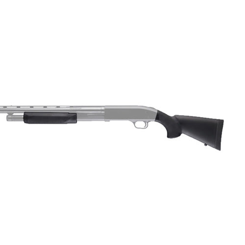 "Hogue Mossberg 500 20 Gauge OverMolded Stock w/ Forend 12"" LOP - 05037"