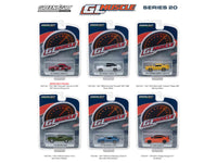 Greenlight Muscle Series 20 Six Piece Set 1:64 Diecast Models