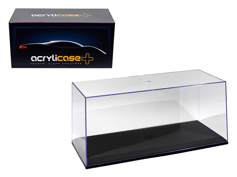 Acrylicase Show Case for 1:18-1:24 Models w/ Black Base